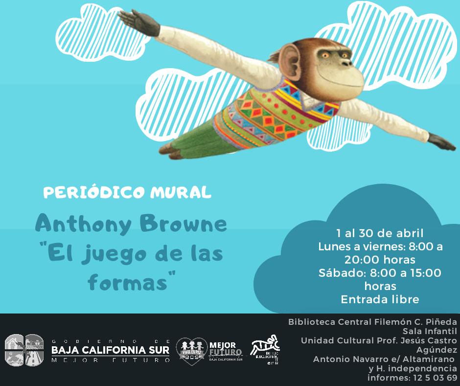 Periodico Mural Anthony Browne El Juego De Las Formas Isc